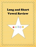 Long and Short Vowel Review aeiou