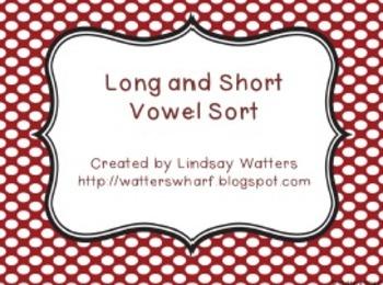 Long and Short Vowel Sort