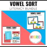 Long and Short Vowel Sort Bundle