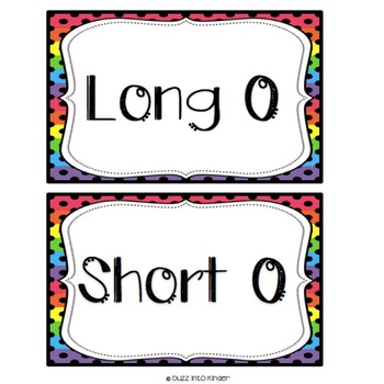 Long and Short Vowel Sorting