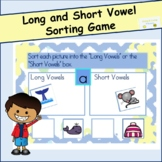Long and Short Vowel Sorting Game (Activity)