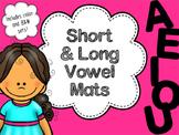 Long and Short Vowel Sorting Mats