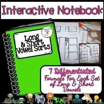 Long and Short Vowel Sorts: BUNDLE