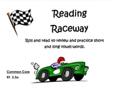 Reading Raceway  Long and Short Vowels