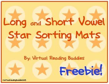 Long and Short Vowel Star Sort