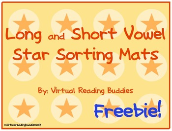 Long and Short Vowel Star Sort