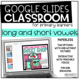 Long and Short Vowel Sweet Shop- A DIGITAL RESOURCE