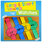 Vowels Watches   Vowels Short and Long Sounds