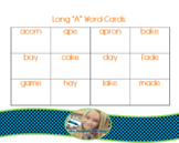 Long and Short Vowel Word Cards