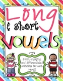 Long and Short Vowel Word Work Activities