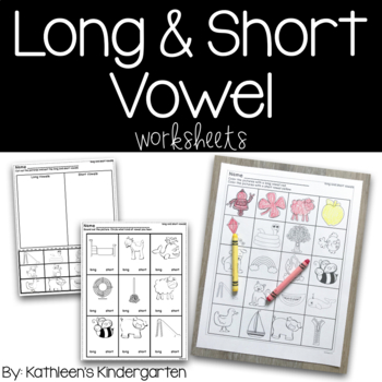 long and short vowel worksheets pdf