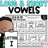 Long and Short Vowel Worksheets Letter I