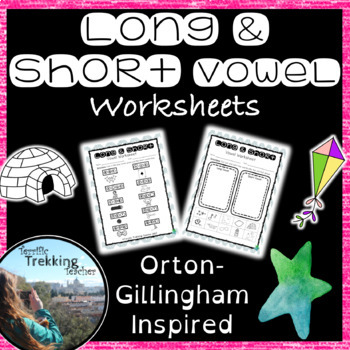 Long And Short Vowel Worksheets Answers Included Orton
