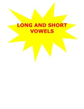 Long and Short Vowels