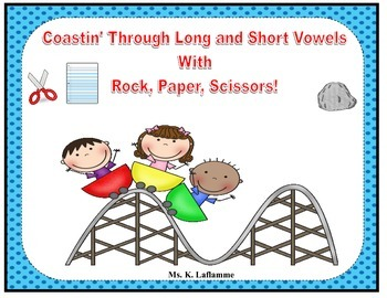 Long and Short Vowels Card Game