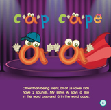 Long  and Short Vowels - Circus Vowels
