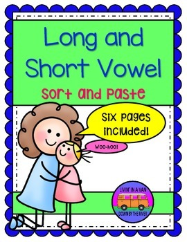 Long and Short Vowels - Sort