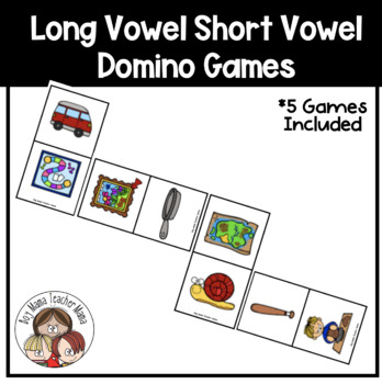 Long and Short Vowels Dominoes