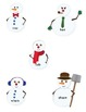 Long and Short Vowels Snowman Sort File Folder Game