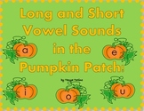 Long and Short Vowels in the Pumpkin Patch