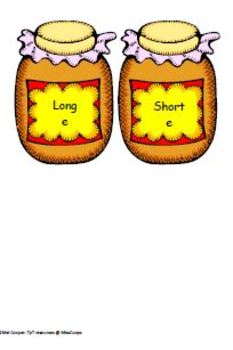 Long and Short e sound game