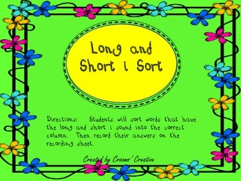 Long and Short i Sort