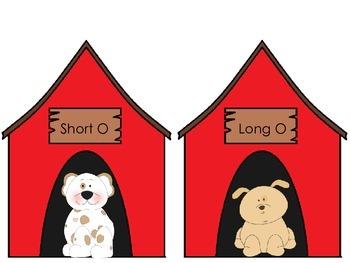 Long and Short o - Pocket Chart Sort