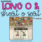 Long and Short o Sort Freebie