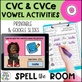 Long and Short o Vowel Activities | Print and Digital for