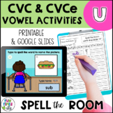 Long and Short u Vowel Activities | Print and Digital for