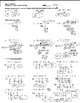 Long and Synthetic Division - Worksheet, Answer Key and Bellwork