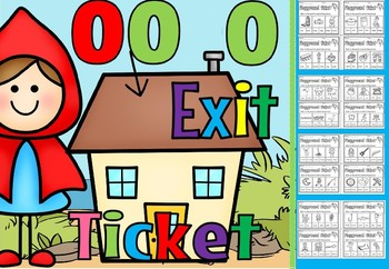 Long and short oo words exit tickets