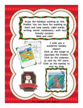 Long and short vowels at Christmas