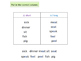 Long and short vowels in English