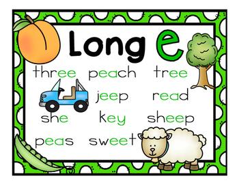 Long e Activities