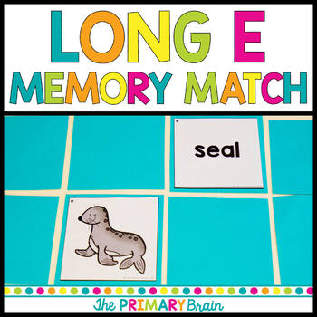 Long e Memory Match Game