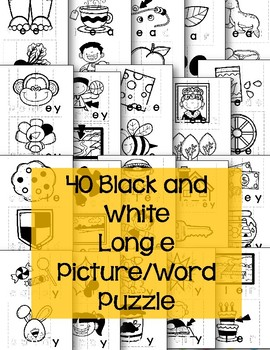 Long e Pattern Puzzles