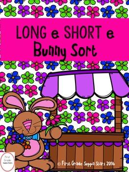 Long e Short e Bunny Sort