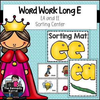 Word Work: Long E Vowel Teams: EA, EE