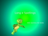 Long e Sound Spelling PowerPoint