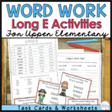 Phonics for Older Students - Long E Task Cards