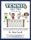 Long e Tennis Teams {an /ee/ and /ea/ phonics unit}
