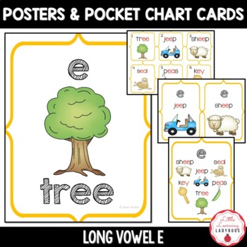 Long e Vowel Pack