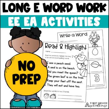 Long e Word Work
