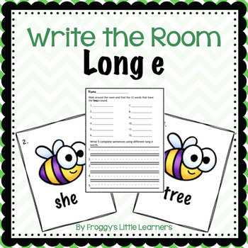 Long e Write the Room