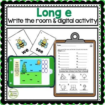 Long e Write the Room