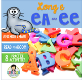 Long e: ee, ea ~Phonics~ Activity Pack