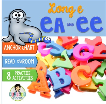 Long e: ee, ea ~Phonics~ Activity Pack