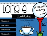Long e (ee & ea) Word Packet