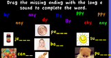 Promethean Long e made with y flipchart Little Rabbit-Treasures First Grade
